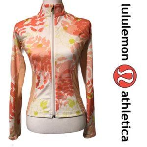 RARE Authentic Lululemon Floral Runners Jacket 8